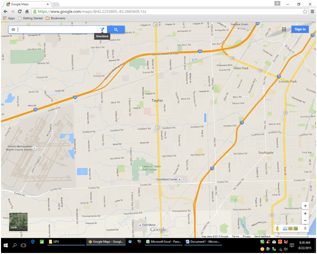 Create a custom route using google maps tyre and a garmin nuvi or step 3 gumiabroncs Gallery