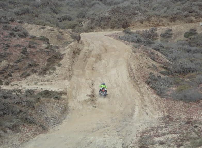 I Don't Need No Stinkin' Adventure Bike Down In Baja!